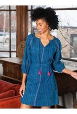 CLEARANCE Raglan Tunic Dress Indigo