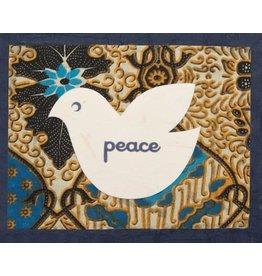 Good Paper Batik Peace Dove Card, Philippines