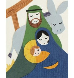 Good Paper Peaceful Nativity Card, Philippines