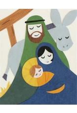 Good Paper Peaceful Nativity Card