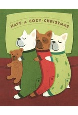 Good Paper Cozy Dog Christmas Card