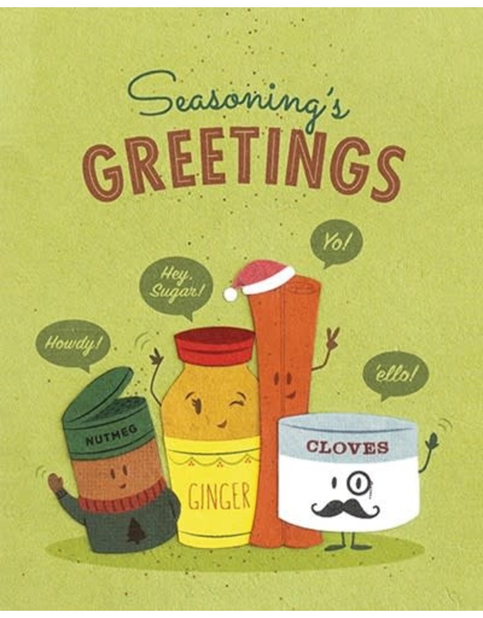 Good Paper Seasonings Greetings Card