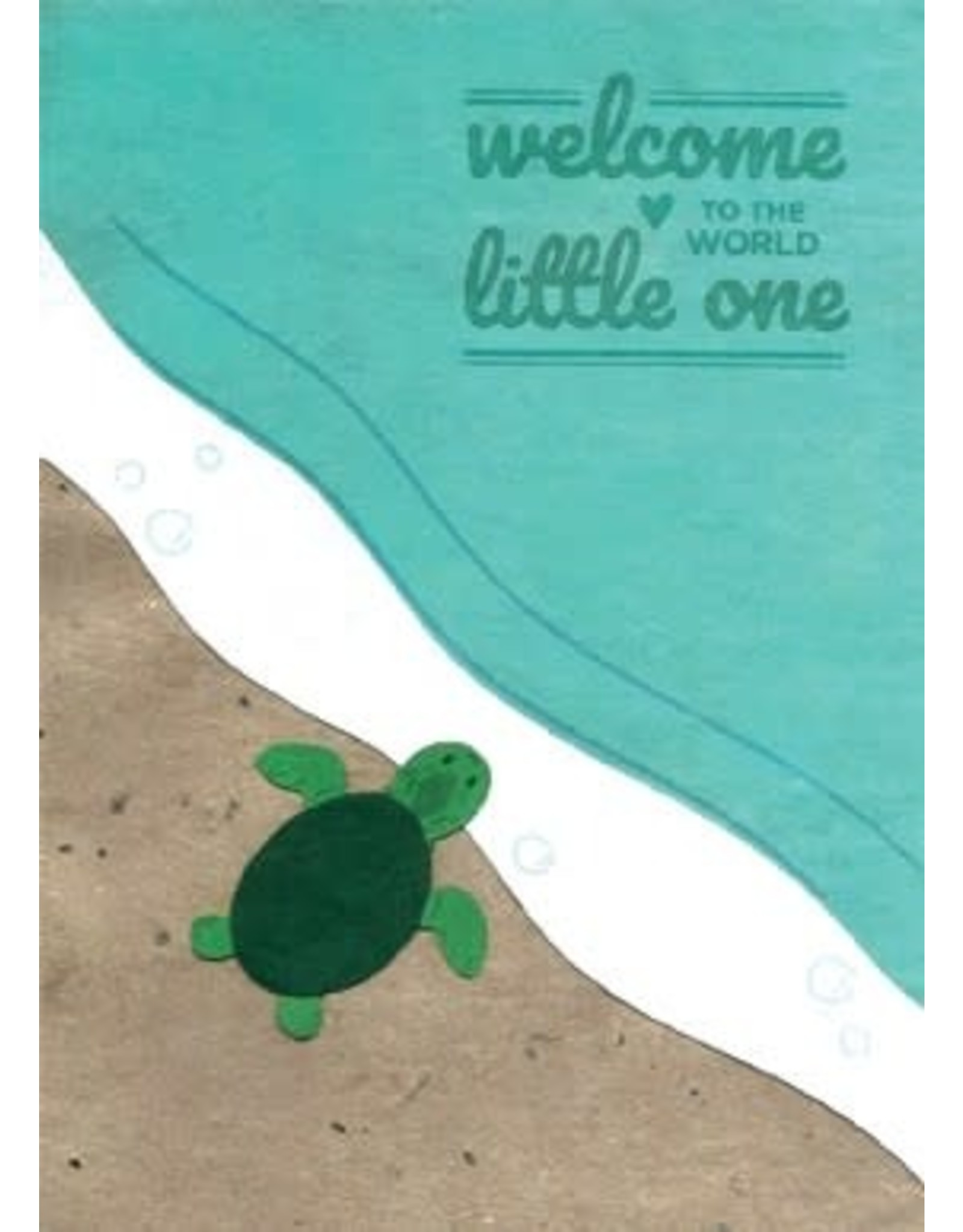 Good Paper Baby Turtle Card