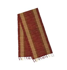 Fair Trade Winds Vetiver Runner in Marsala Bronze