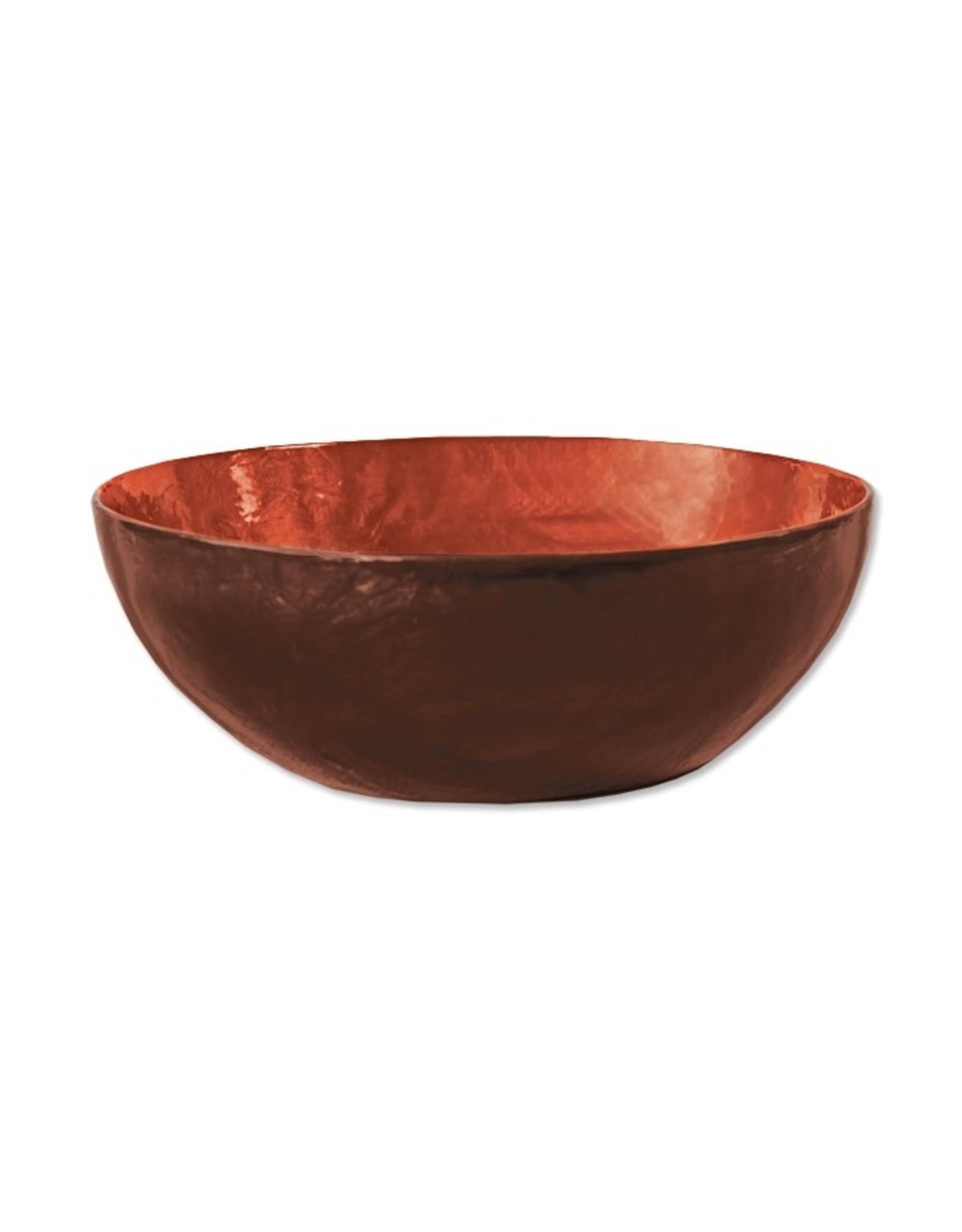Fair Trade Winds Sunset Capiz Shell Bowl