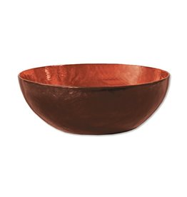 Fair Trade Winds Sunset Capiz Shell Bowl