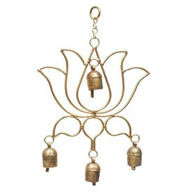 Mira Fair Trade Blooming Lotus Chime, India
