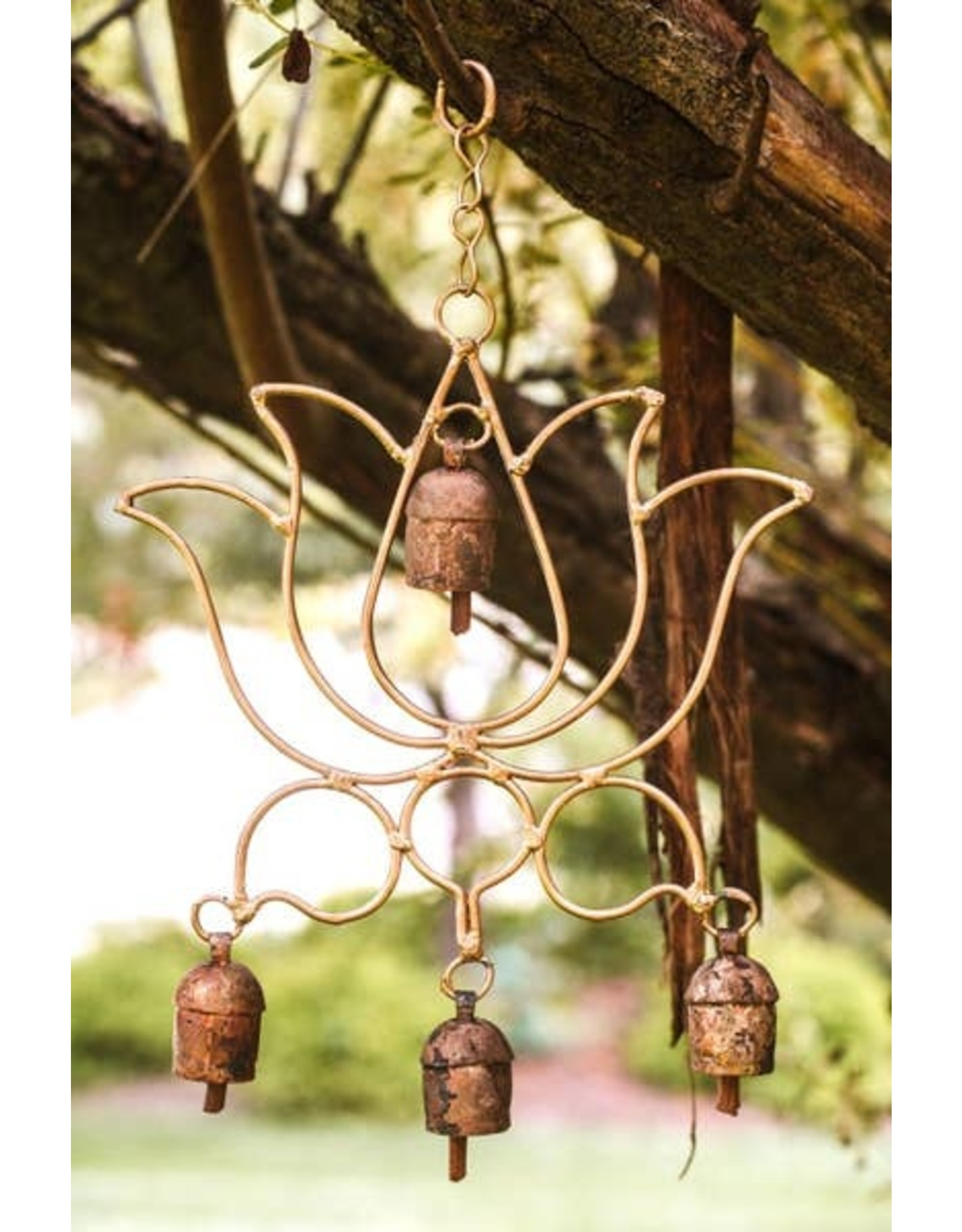 Mira Fair Trade Blooming Lotus Chime