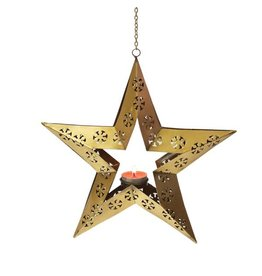 Mira Fair Trade Hanging Star Lantern