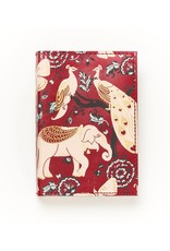 Matr Boomie Fauna Leather Journal- Red Garden