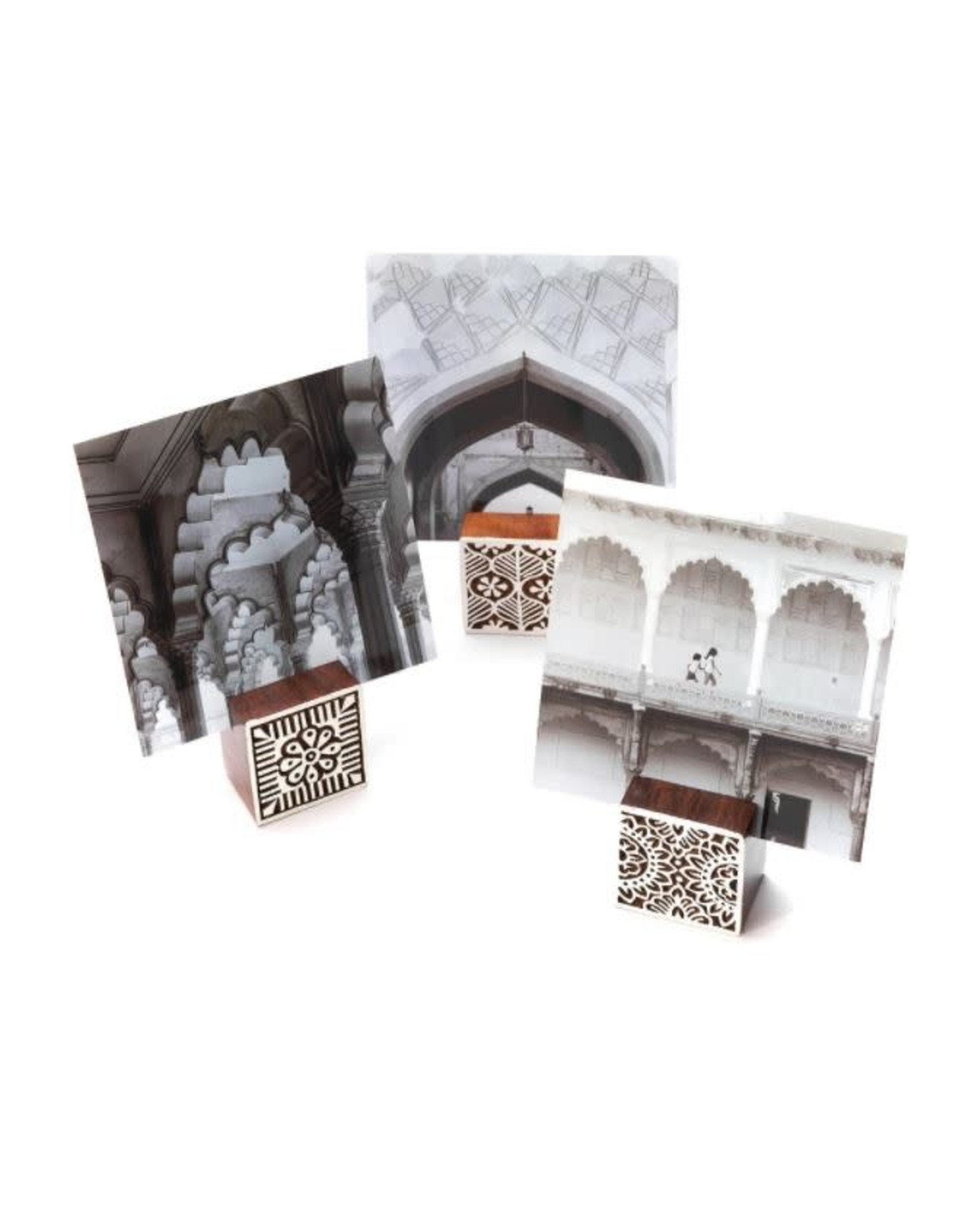 Matr Boomie Hima Bindu Photo Blocks, assorted