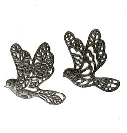 Papillon Cut Metal Doves, assorted