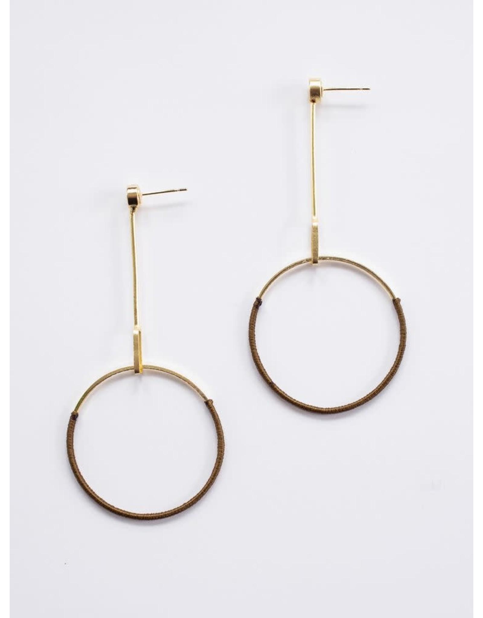 Pendulum Earrings, India