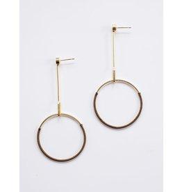 Pendulum Stud Earrings, India