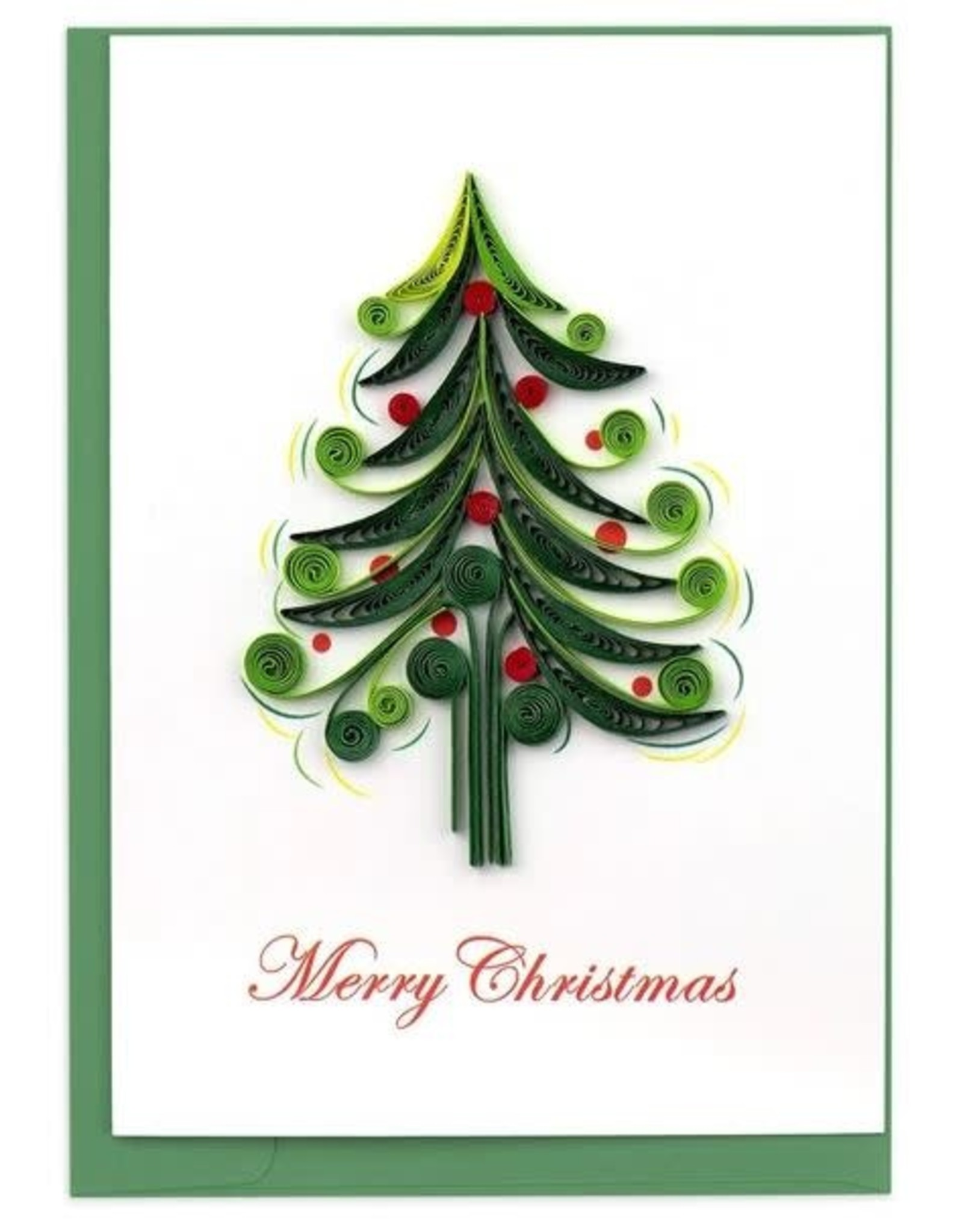 quillingcard Quilled Christmas Tree Card