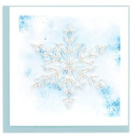 quillingcard Quilled Snowflake Card