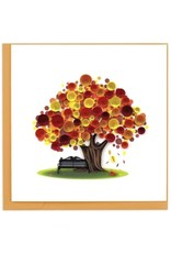quillingcard Quilled Autumn Tree Card