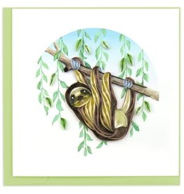 quillingcard Quilled Sloth Card
