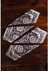 Sevya Kalamkari Napkins, Gray tones, set of 4