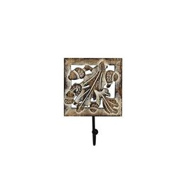 Mela Artisans Oak Leaf Single Hook