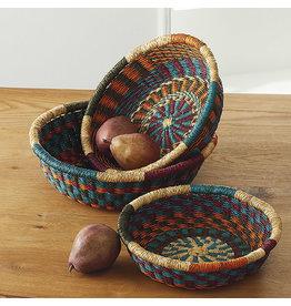 SERRV Nesting Spoke Baskets, set of 3