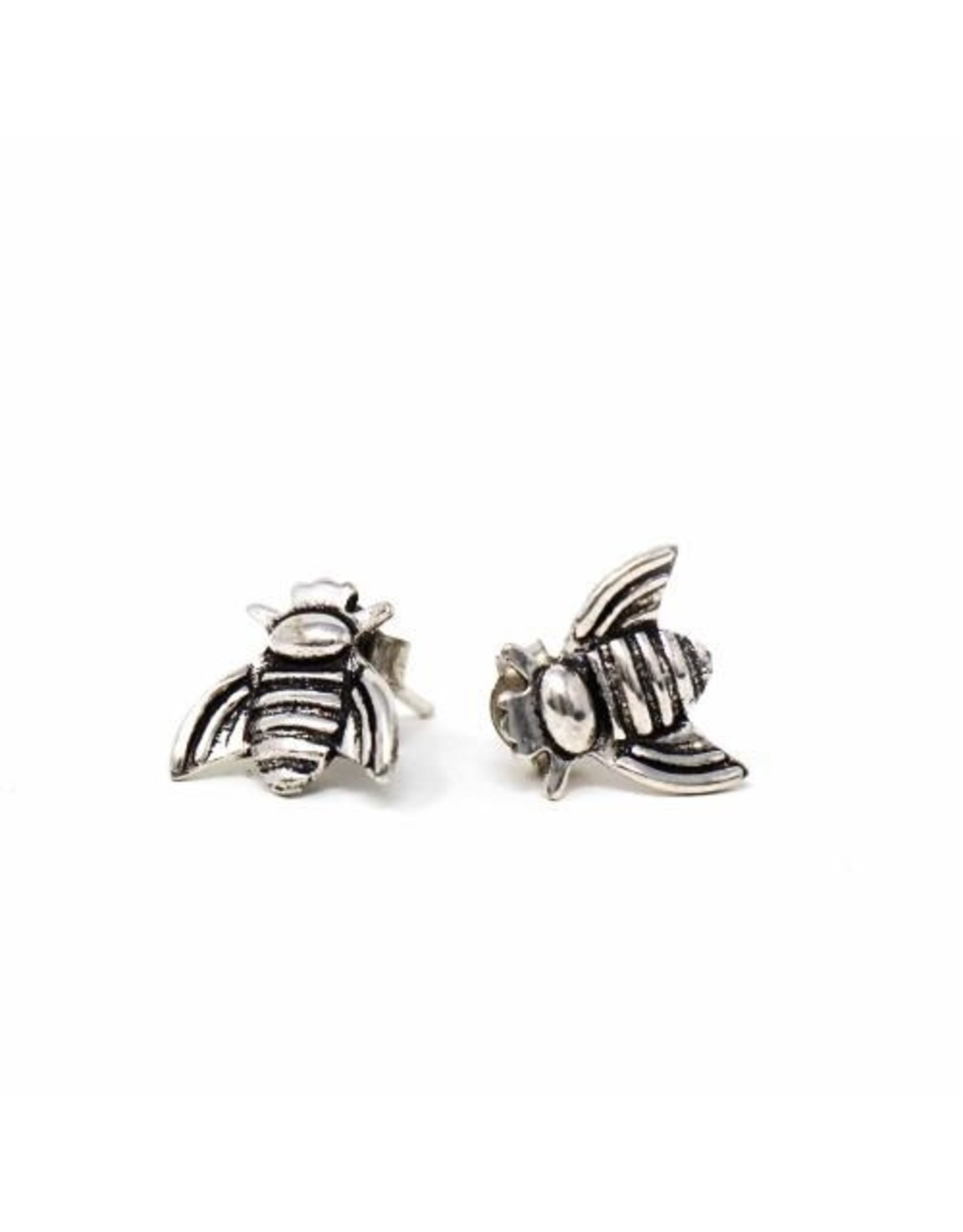 Global Crafts Honeybee Stud Earrings