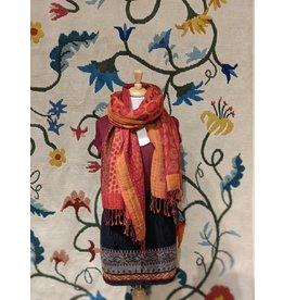 Sevya Kalya Cotton & Wool Shawl