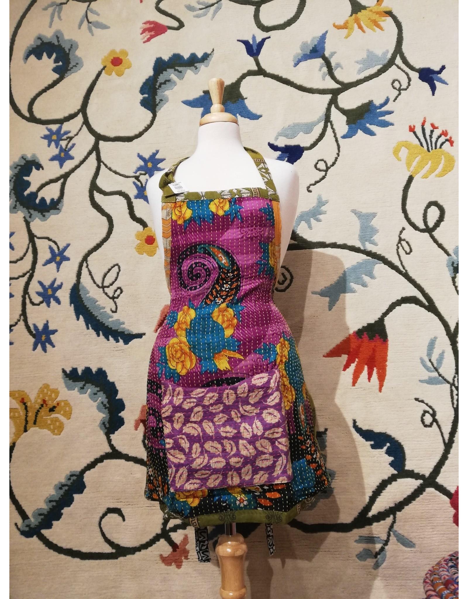 One of a Kind Sari Aprons