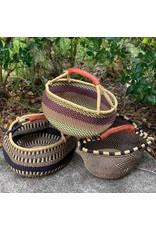 Global Crafts XL Bolga Market Basket, Ghana