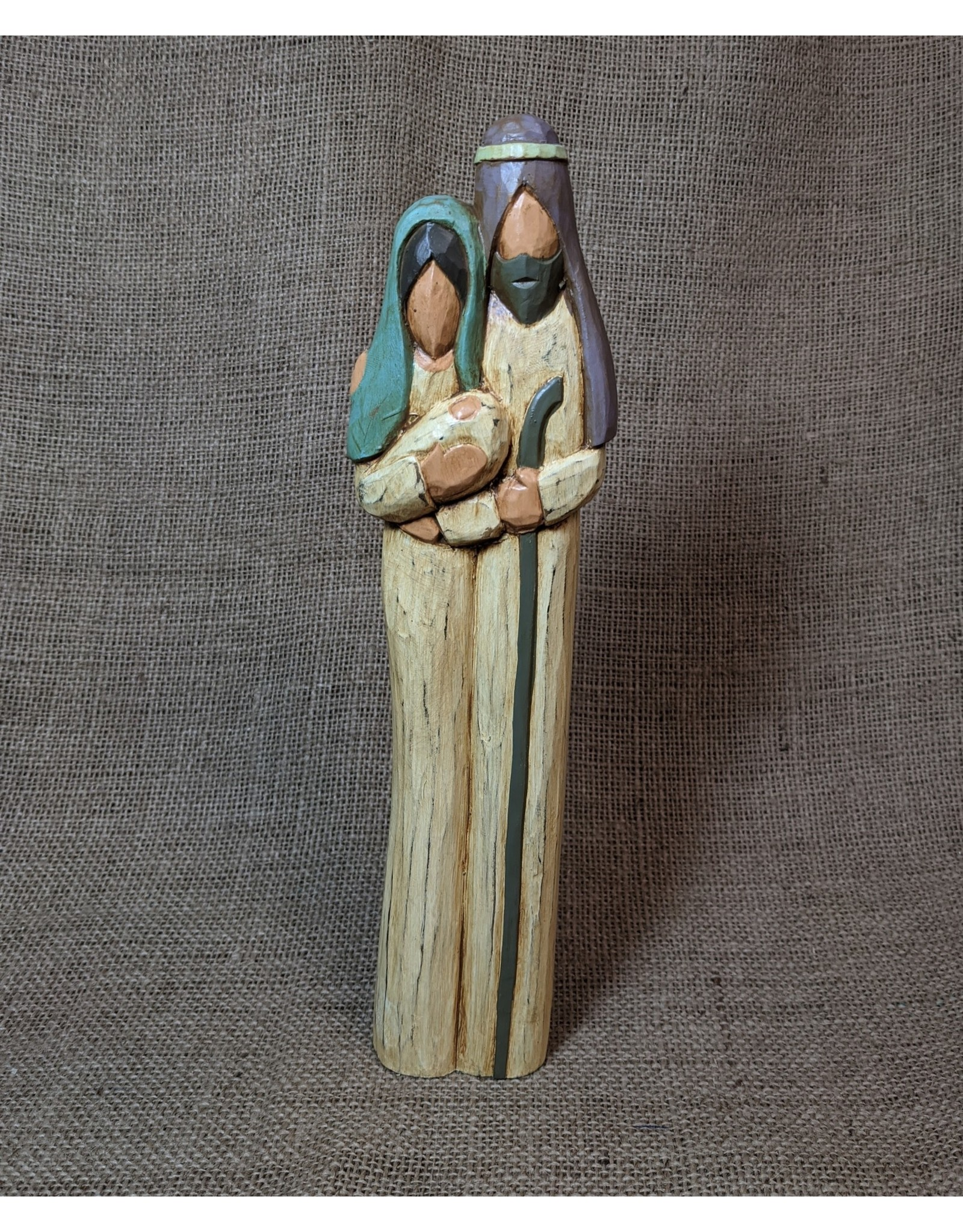 Ten Thousand Villages Family Of Three Nativity, Indonesia