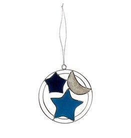TTV USA Starry Night Capiz ornament,  Phillipines