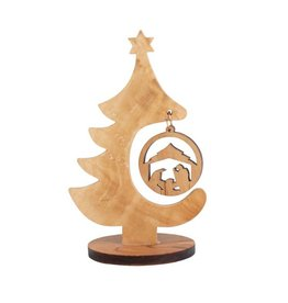 TTV USA Olivewood Tree Nativity, West Bank