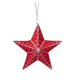 TTV USA Red Star Ornament, Bangladesh