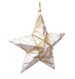 TTV USA Gold Paper Star Ornament, Bangladesh