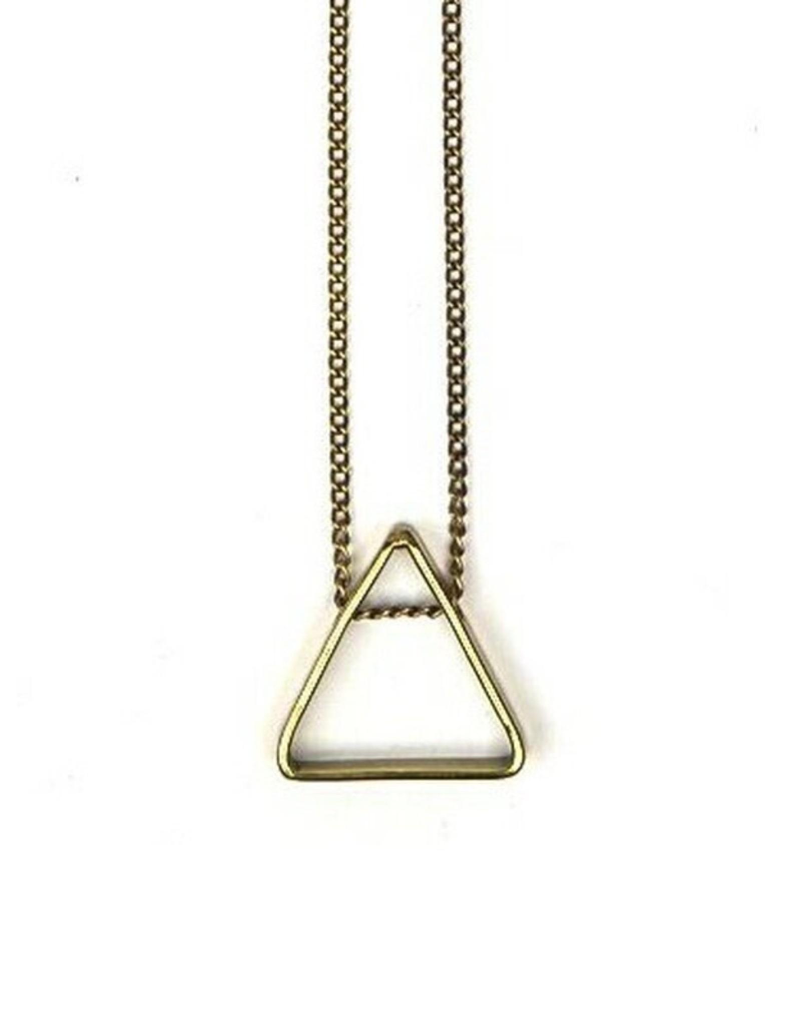 Fair Anita Pyramid Pendant Necklace, India