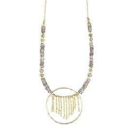 Fair Anita Gold Mist Necklace, India