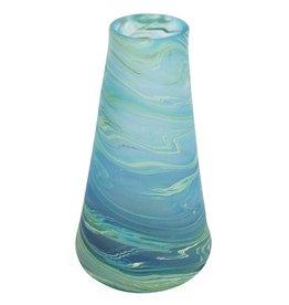 "TTV USA Galaxy Glass Vase, 9.5""/24cm, West Bank"
