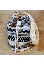 Ten Thousand Villages Drawstring Slouch Handbag