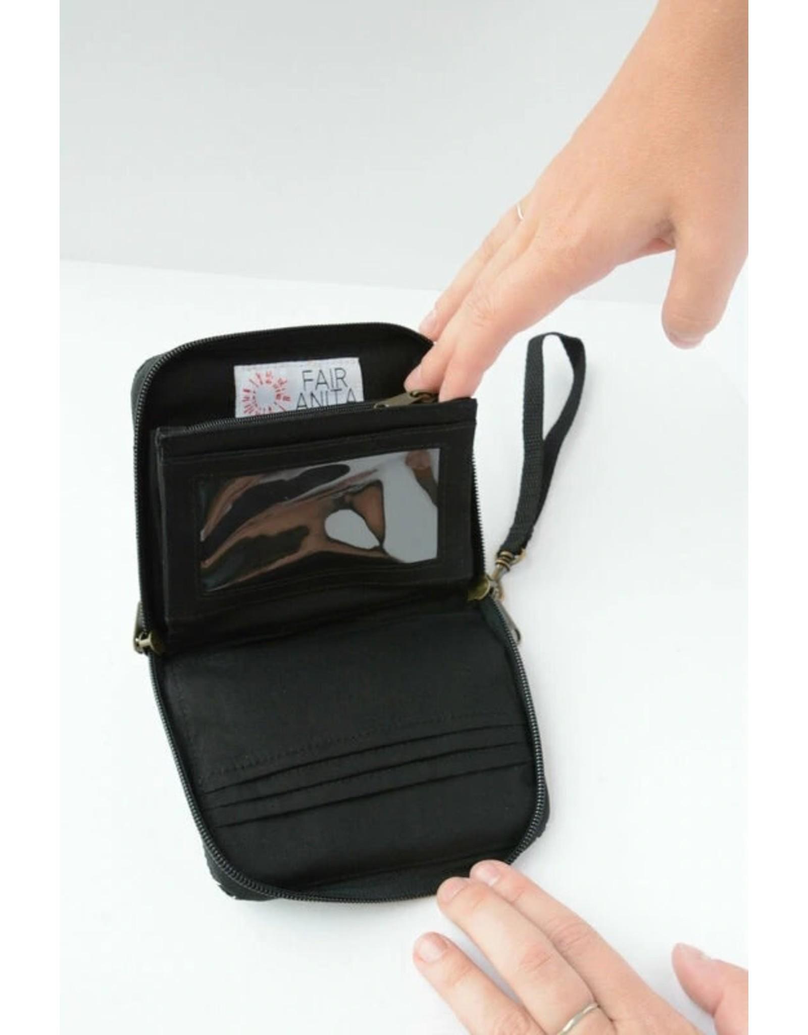 Fair Anita Pick Up Sticks Mini Zip Wallet, Cambodia
