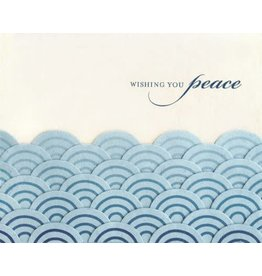 Good Paper Peaceful Waves Greeting Card, Philippines