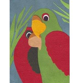 Good Paper Birds of a Feather Greeting Card, Rwanda