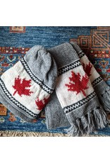 Ten Thousand Villages CLEARANCE Grey Canada Hat, Nepal