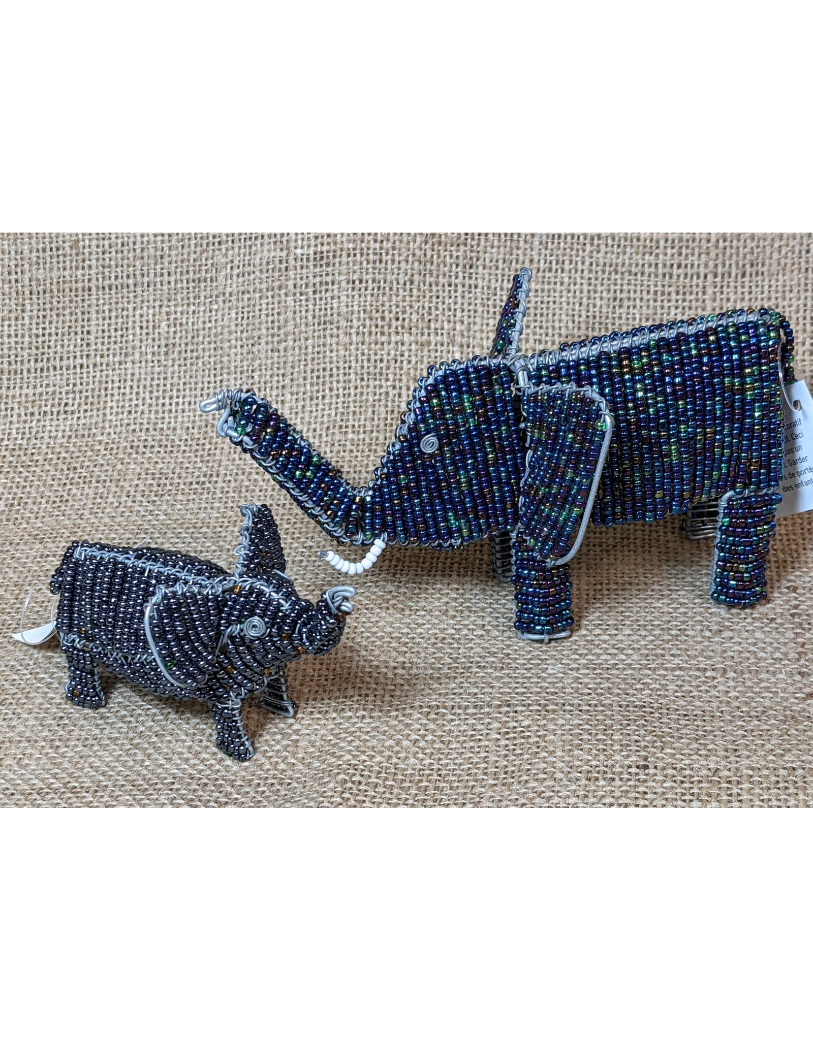 Ten Thousand Villages CLEARANCE Beaded Elephant (small), Kenya