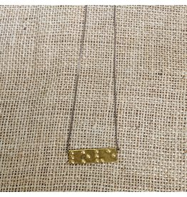 Ten Thousand Villages CLEARANCE Braille Love Necklace, Cambodia
