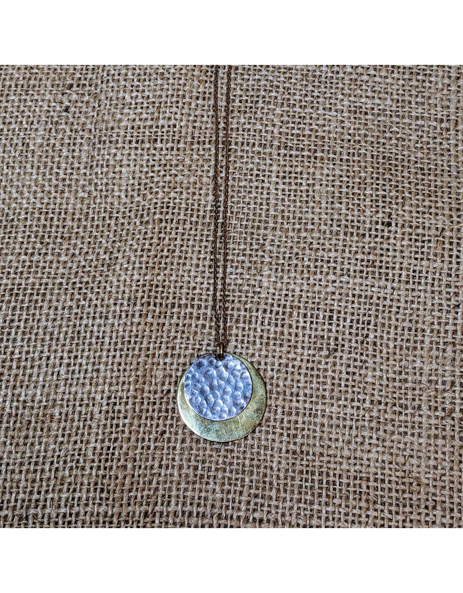 Ten Thousand Villages CLEARANCE Serious Coin Necklace, Cambodia