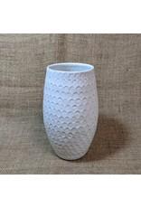 Ten Thousand Villages CLEARANCE  Honeycomb Stoneware Vase, Nepal