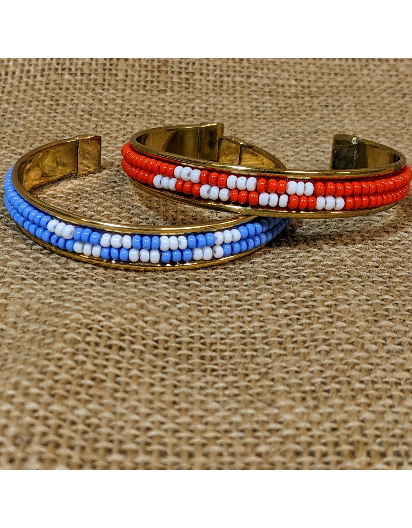 Ten Thousand Villages CLEARANCE Beaded Cuff, India