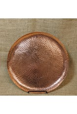 Ten Thousand Villages CLEARANCE Rose Gold Refreshment Tray, India