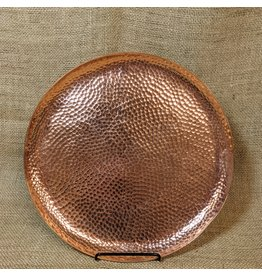 Ten Thousand Villages CLEARANCE Copper-coloured Refreshment Tray, India