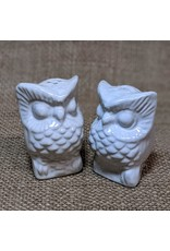 Ten Thousand Villages CLEARANCE Owl Salt & Pepper Shakers, Indonesia